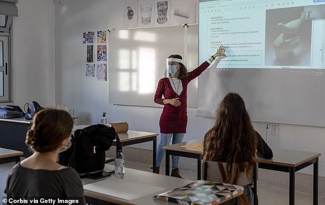 بالصور، شاهد ارتباك الطلاب في العودة إلى المدارس في أوروبا