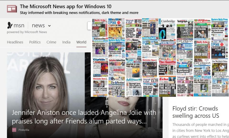 مايكروسوفت تفصل 50 صحافيا وتستبدلهم بروبوت لكن مهنة الصحافة في الحفظ والصون!