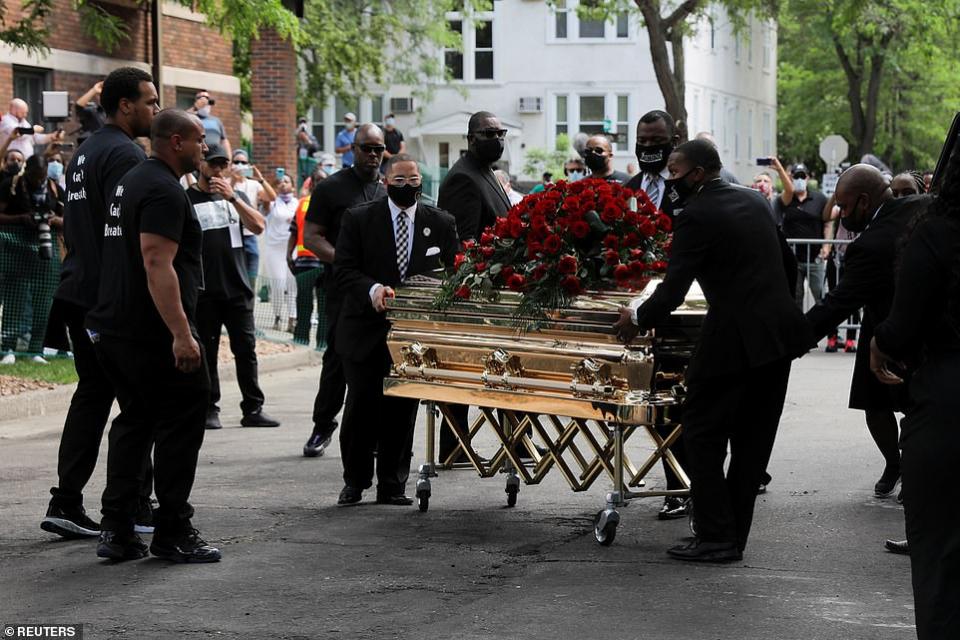 بالصور، مراسم تأبين جورج فلويد أحدث ضحية لوحشية الشرطة الأمريكية
