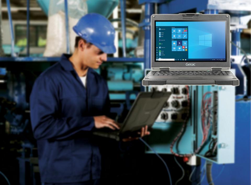 أول كمبيوتر محمول بدعم الجيل الخامس وتصميم شديد التحمل