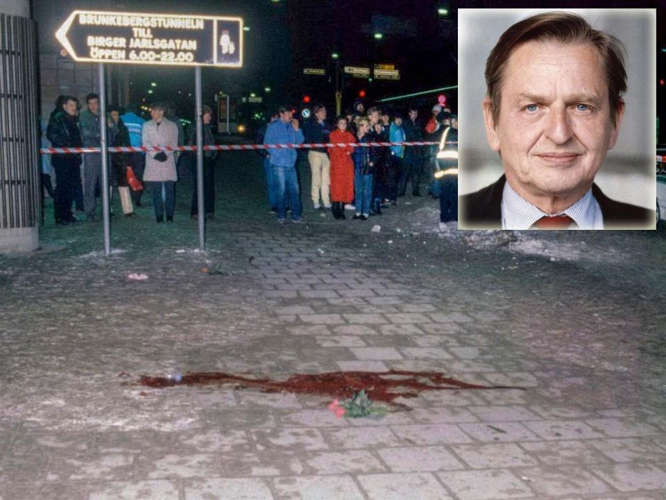 الكشف عن قاتل رئيس الوزراء السويدي أولاف بالمه بعد 34 عاماً