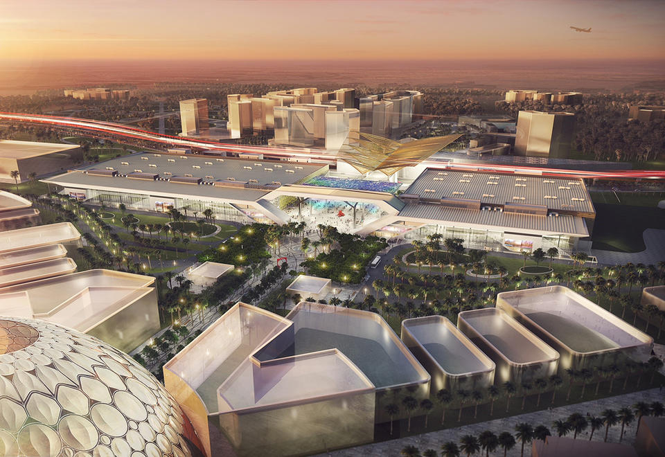 انطلاق  العمل لتجهيز معرض اكسبو دبي