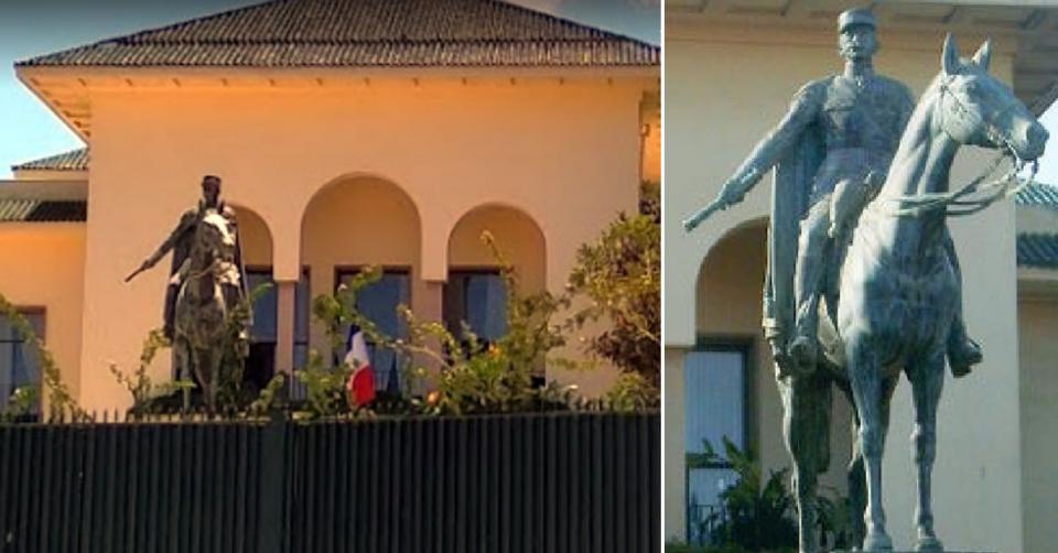 شاهد بالصور حملات اسقاط تماثيل رموز الاستعمار في أميركا وأوروبا تصل العالم العربي