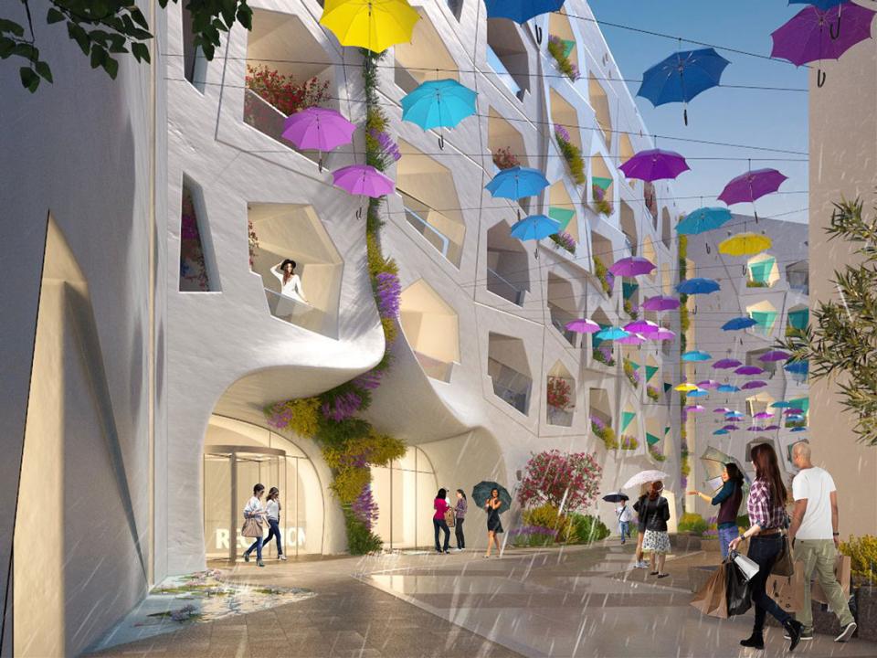شارع ماطر يخفف درجة الحرارة إلى 27 درجة مئوية خلال مهرجانات موسم الصيف  في دبي