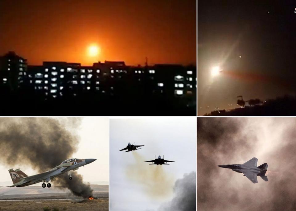 الجيش السوري: إسرائيل ضربت عدة قواعد في أنحاء البلاد
