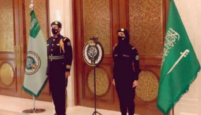 امرأة  تجعل الحرس الملكي السعودي يتصدر عمليات البحث في السعودية
