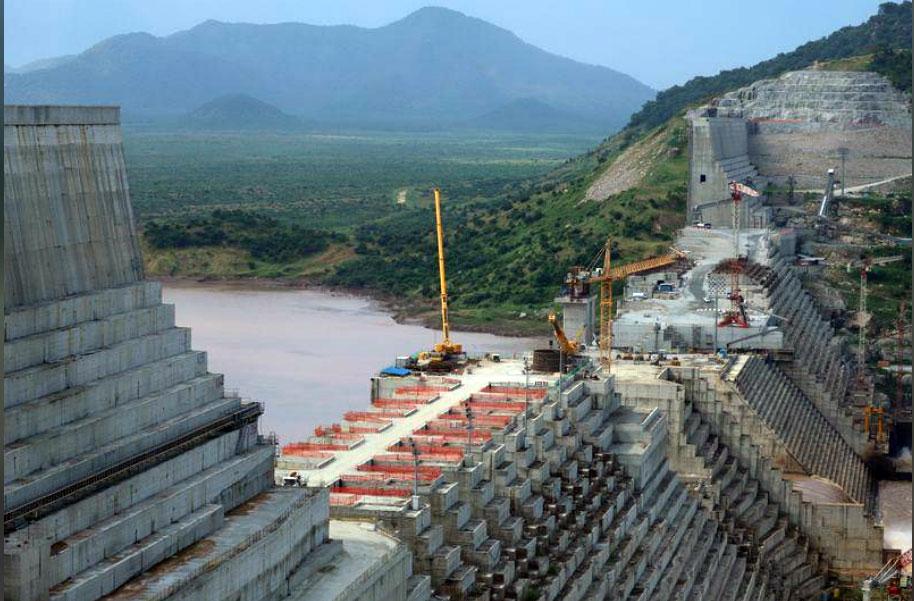 شاهد بث إثيوبيا لقطات لملء بحيرة سد النهضة