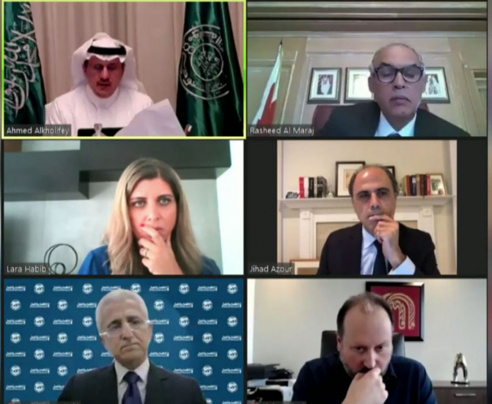 محافظ  البنك المركزي السعودي: توقعات صندوق النقد أشد تشاؤما من تقديراتنا