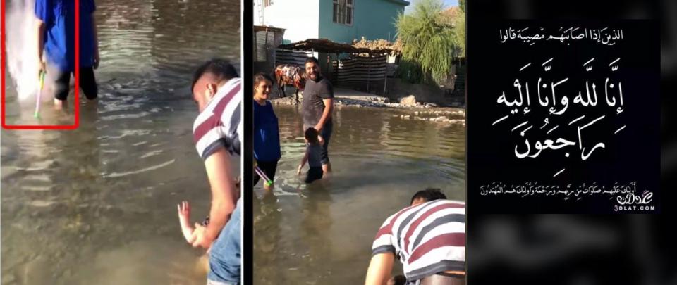 عائلة تسجل لحظة تعرض أفرادها لقصف جوي شمال العراق
