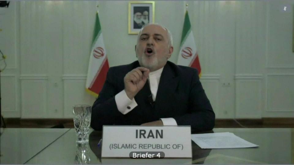 وزير الخارجية الإيراني: نعمل على شطب الدولار من التعاملات الاقتصادية