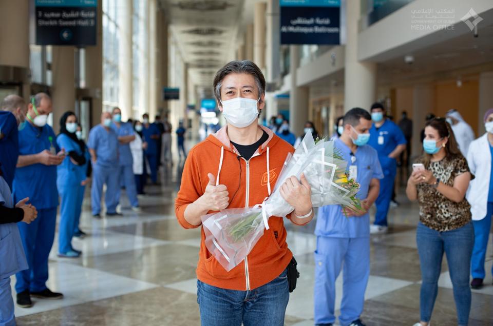 آخر المرضى يغادرون المستشفى الميداني لفيروس كورونا في دبي