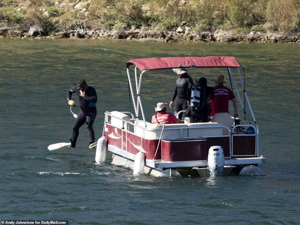 العثور على جثة الممثلة الأمريكية نايا ريفيرا بعد 6 ايام من غرقها في بحيرة