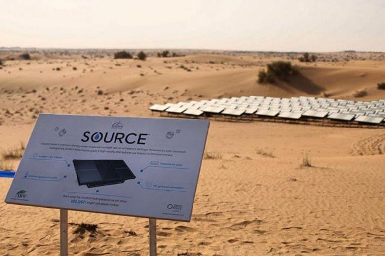 شركة أمريكية تعمل على توليد الماء من الصحراء في دبي