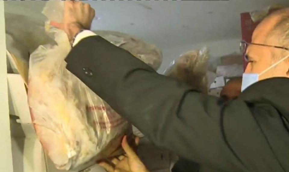 لبنان: ضبط 40 طناً من الدجاج الفاسد من عام ٢٠١٦