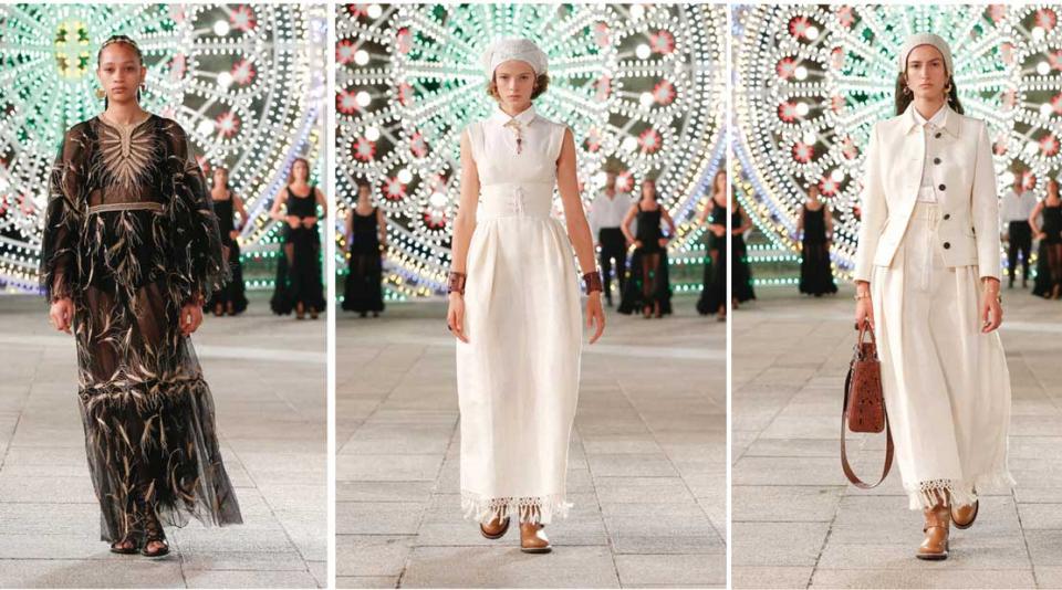 شاهدي عرض الأزياء ديور كروز 2012