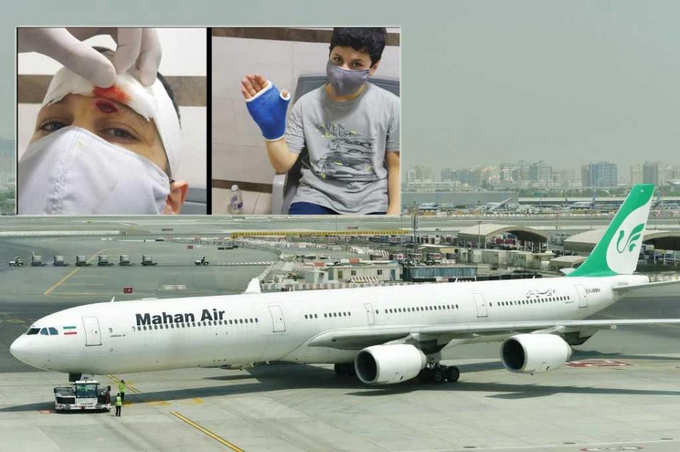 إصابة ركاب طائرة إيرانية باعتراض مقاتلات أمريكية لها فوق سوريا