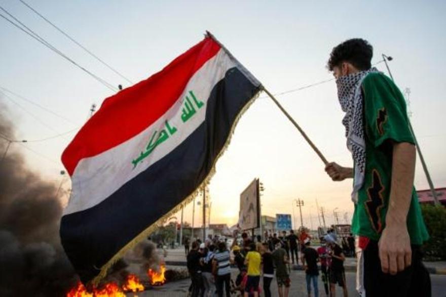 مقتل متظاهرين اثنين بعد مواجهات مع الشرطة في بغداد