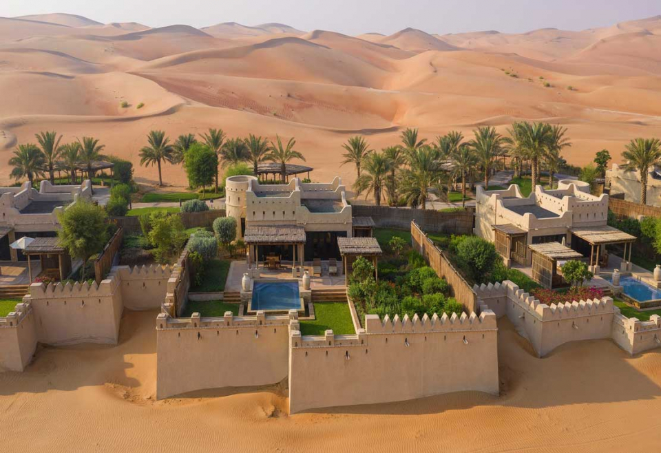 قصر السراب منتجع الصحراء يقدم خيارات استجمام فريدة