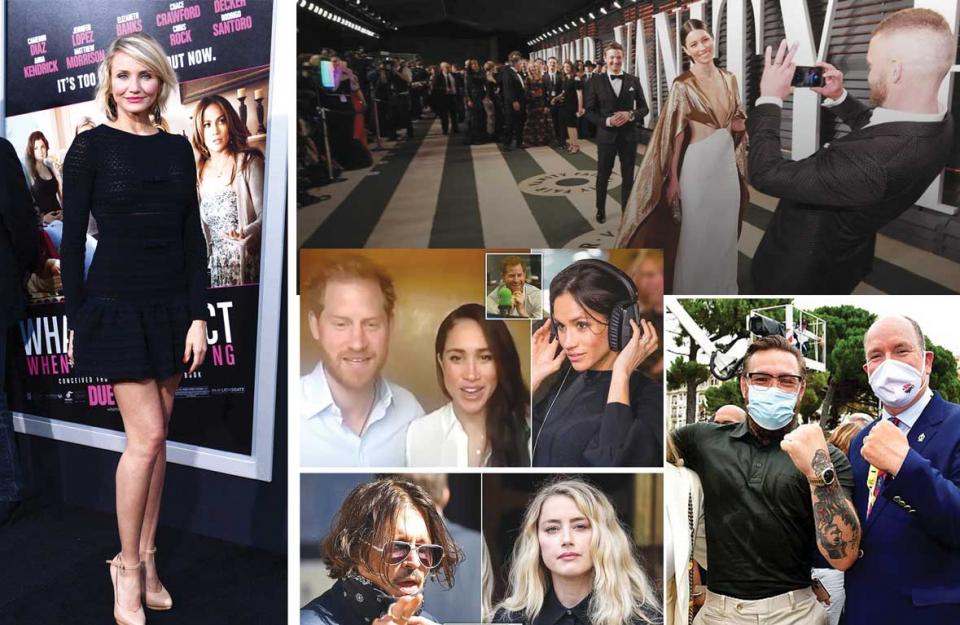 بالصور، مشاهير وشخصيات تتصدر الأخبار