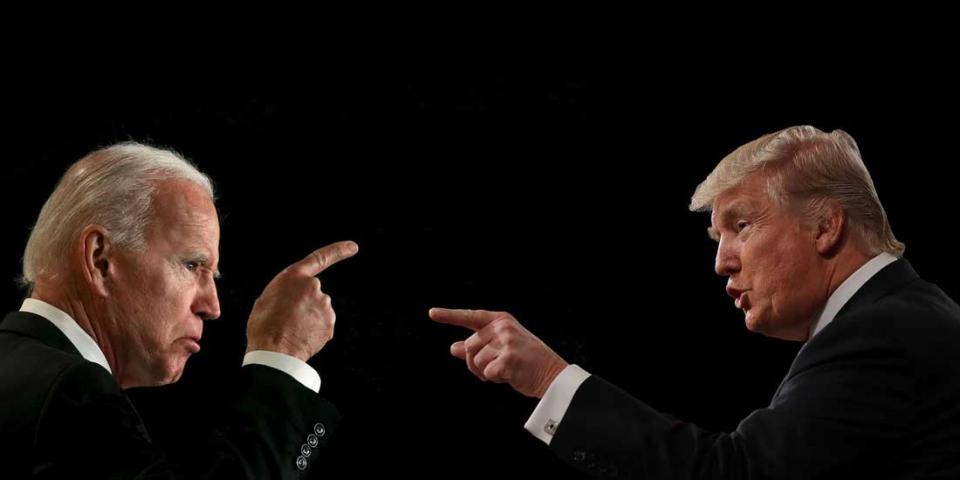 ترامب وبايدن يتبادلان انتقادات حادّة مع دخول السباق الرئاسي مرحلته الأخيرة