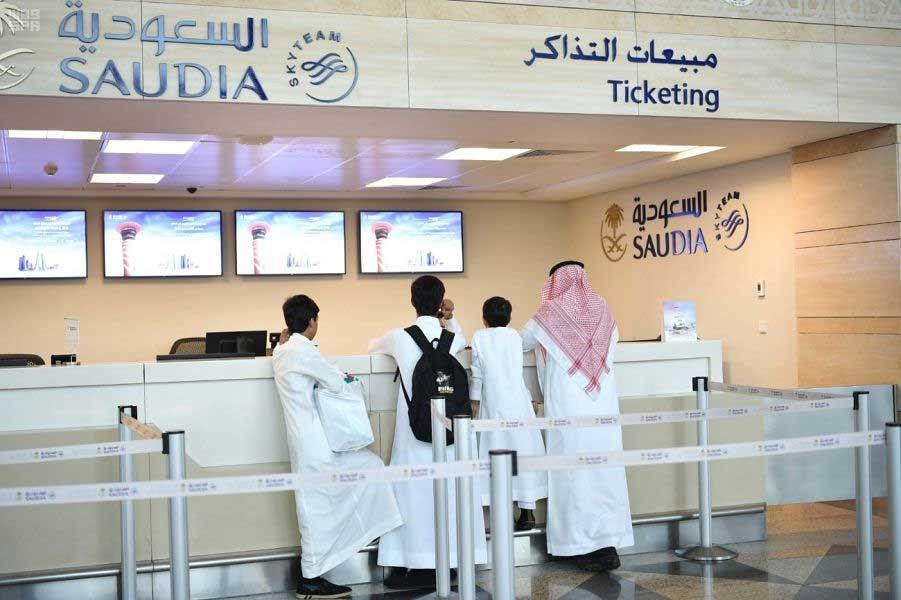 3 رحلات للخطوط السعودية من دبي في سبتمبر الجاري